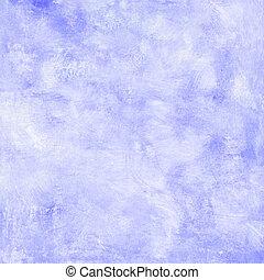 blaues, gemalt, hintergrund, beschaffenheit