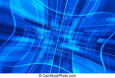 blaues, geschaeftswelt, hintergrund