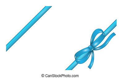 blauer satin geschenkband geschenk verbeugung blaues stock illustration suche clipart. Black Bedroom Furniture Sets. Home Design Ideas