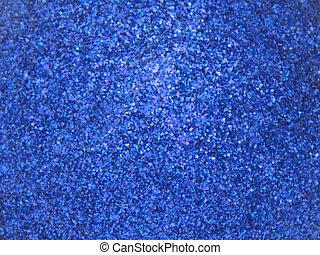 blaues, glitzer, tief