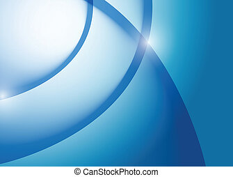 blaues, grafik, linien, abbildung, welle, design