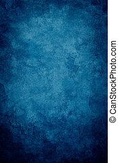 blaues, grunge, vignette