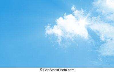 blaues, heller himmel