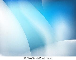 blaues, hintergrund., abstrakt