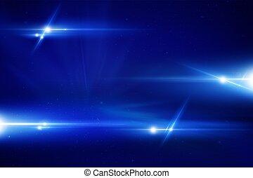 blaues, laser, hintergrund