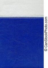 blaues, leatherette, grau, beschaffenheit