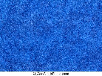 blaues, leatherette, hintergrund