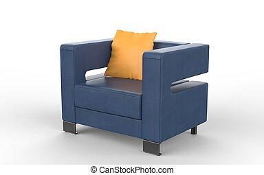 inneneinrichtung sessel modern gelber clipart suche. Black Bedroom Furniture Sets. Home Design Ideas