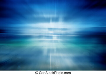 blaues licht, abstrakt, bewegung, hintergrund, technologie, geschwindigkeit
