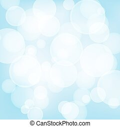 blaues licht, abstrakt, effects., vektor, hintergrund