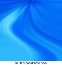 blaues licht, strahlen