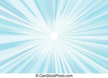 blaues licht, strahlen, vektor