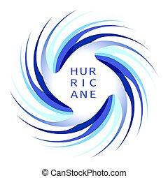 blaues, logo, orkan