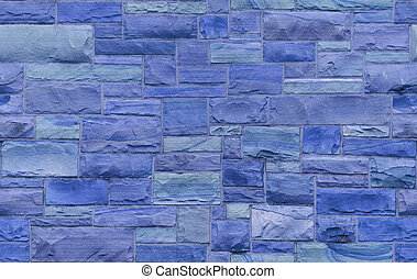 blaues, mauerwerk, seamless, hintergrund