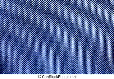 blaues, metallisch