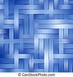 blaues, muster, abstrakt, streifen, hintergrund.