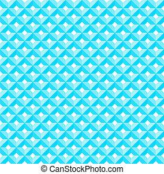 blaues, muster, diamant