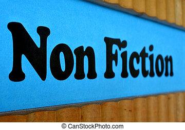 blaues, nichts, regal, zeichen, buch, hintergrund, fiktion