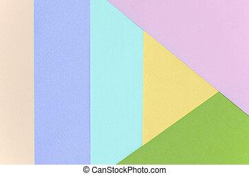 blaues, pastell, mode, rosa, muster, beschaffenheit, gelber , colors., hintergrund, papiere, violett, grün, geometrisch, beige