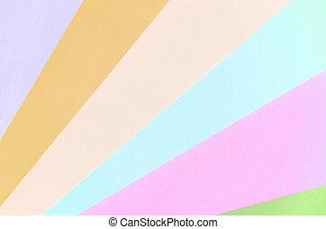 blaues, pastell, mode, rosa, muster, beschaffenheit, orange, colors., hintergrund, papiere, violett, grün, geometrisch, beige