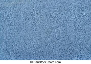 blaues,  Polar, Vlies, hintergrund, Beschaffenheit