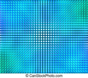 blaues, punkte, abstrakt, leuchtdiode, hintergrund