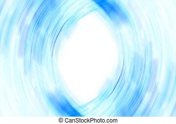 blaues, Rahmen, weich