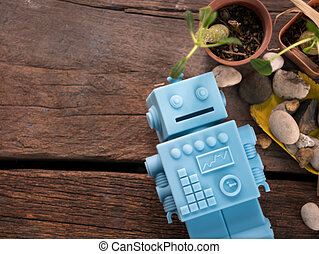 Fußboden Roboter ~ Stock illustration roboter liegen boden und laptop benutzend