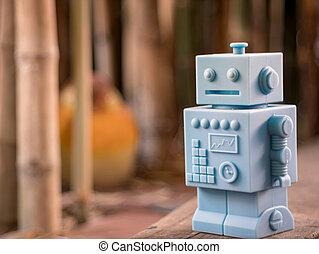 Fußboden Roboter ~ Weißes holz roboter hintergrund