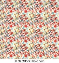 blaues, rotes gelb, kreise, psychedelisch, abstrakt, hintergrund