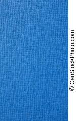 blaues, senkrecht, -, beschaffenheit, hintergrund, leatherette