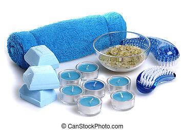 blaues, spa