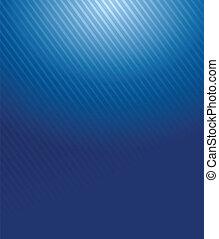 blaues, steigung, linien, muster, abbildung