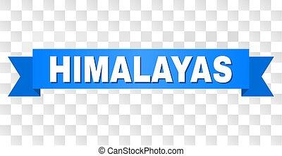 blaues, text, himalayas, band