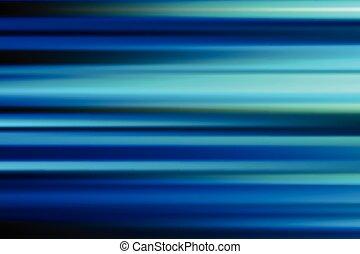 blaues, vektor, abstrakt, geschwindigkeit, bewegungszittern, von, nacht, lichter, stadt, lange aussetzung, hintergrund