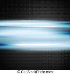 blaues, vektor, glänzend, hintergrund