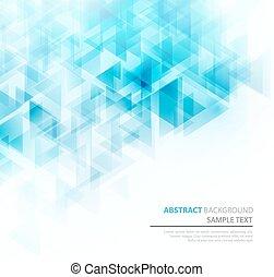 blaues, vektor, hintergrund., glänzend, technisch