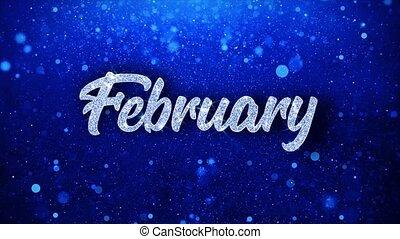 blaues, wünsche, text, grüße, feier, februar, partikeln, einladung, hintergrund