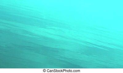 blaues wasser, oberfläche