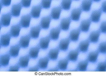 blaues, weich, hintergrund