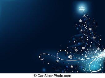 blaues, weihnachten