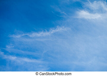 blaues, wolkenhimmel, schoenheit, spindrift, himmelsgewölbe,...