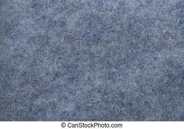 blaues, wolle, hintergrund