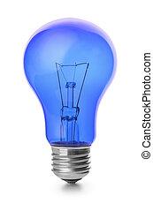 blaues, zwiebel, licht