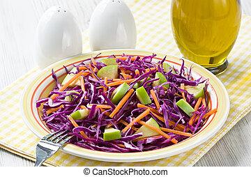 blaukraut, salat