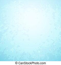 blauw centrum, licht, abstract, helder, papier, achtergrond