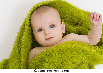 blauw groen, eyed