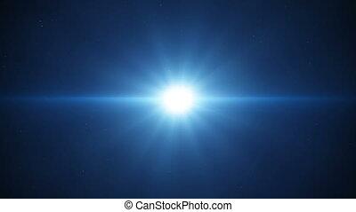 blauw licht, loopable, achtergrond