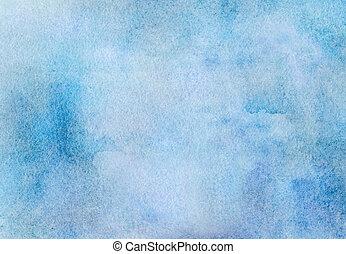 blauw licht, watercolor, achtergrond