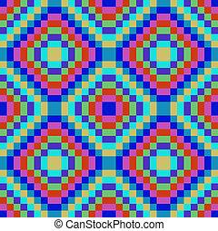 blauw vierkant, seamless, textuur